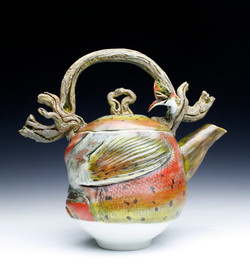 Steelhead Trout  Teapot