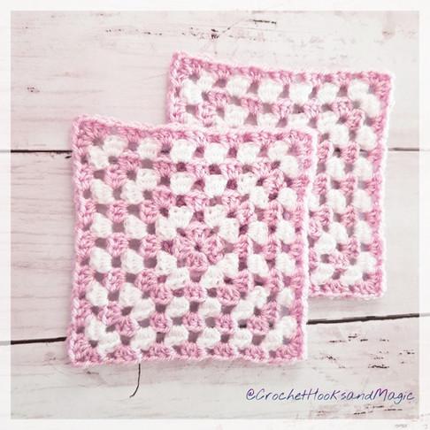 Sparkle Granny Square Free Pattern!