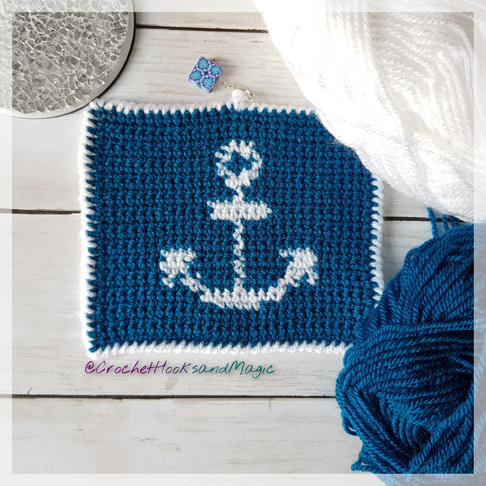 Intarsia: Anchor Square