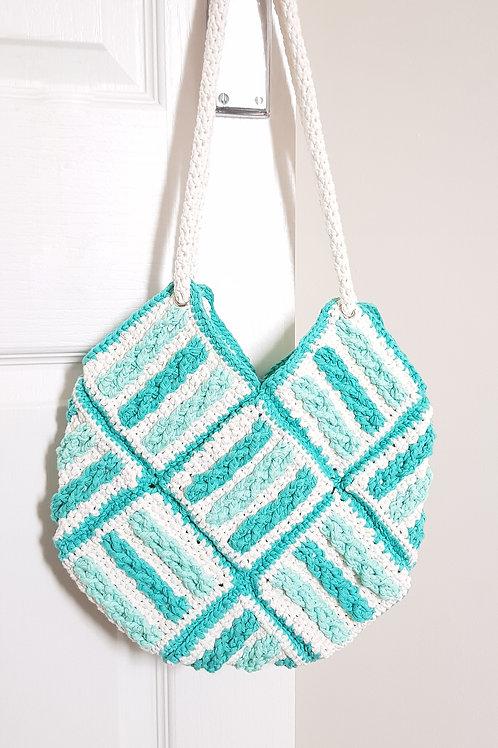 Braided Beach Bag PDF Pattern