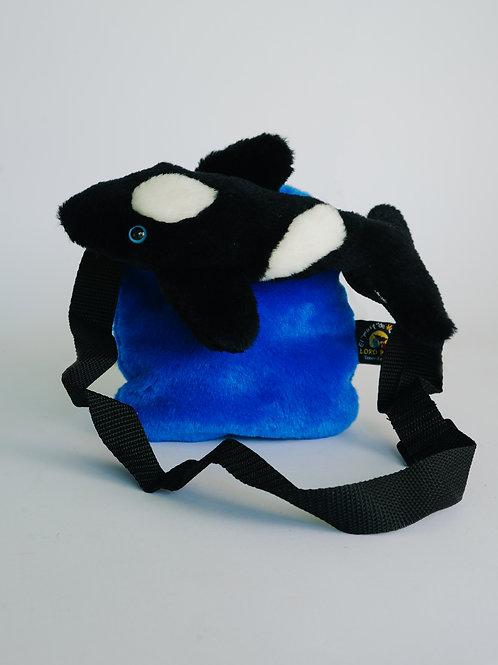 Bolso azul orca
