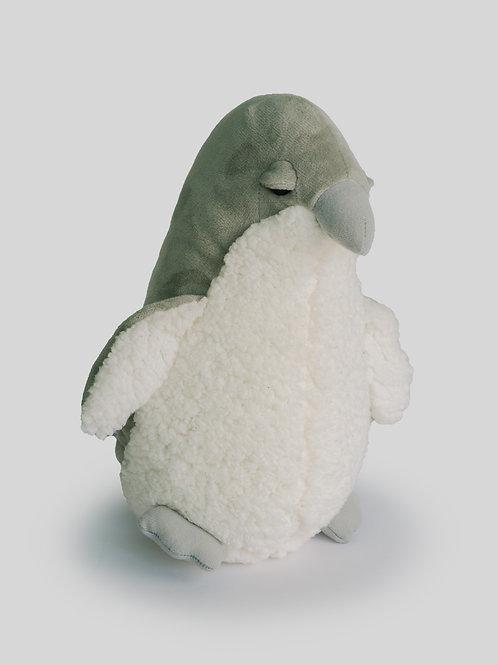 Pingüino Gris Rizado