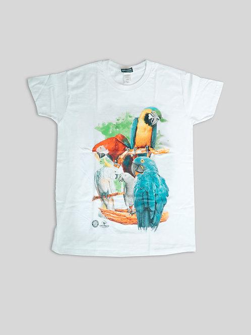 Camisa 5 Loros mujer