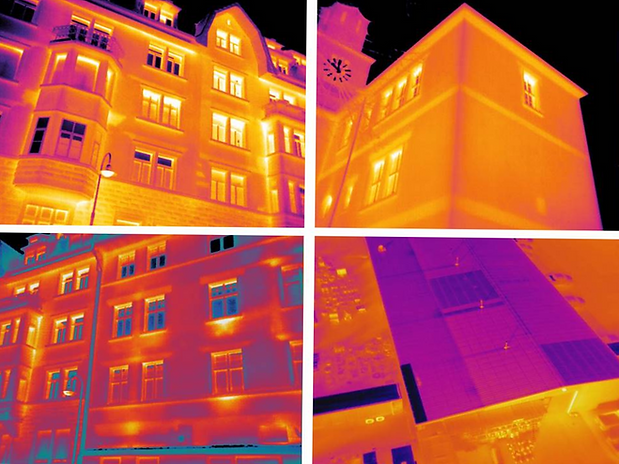 Thermografie Gebäude