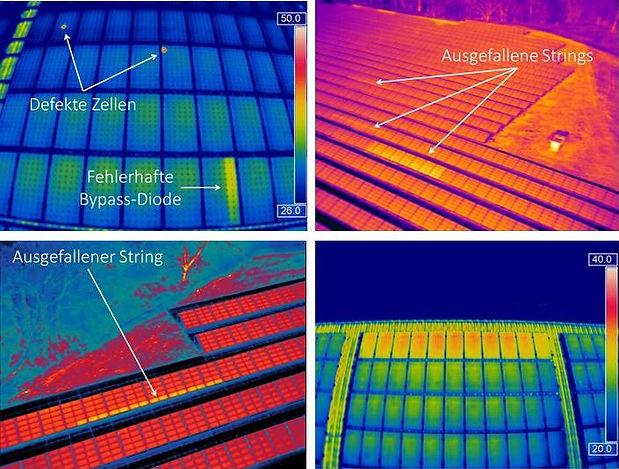 Thermografie Photovoltaikanlagen