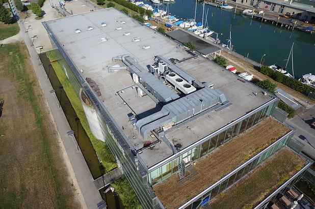 Dachinspektion mittels Drohne