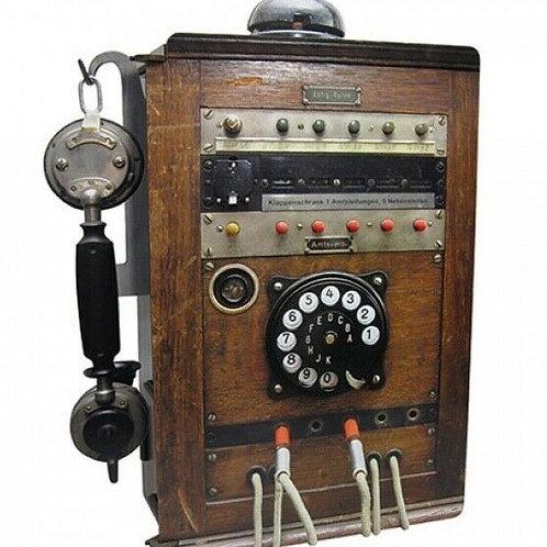 Station téléphonique pour la recharge