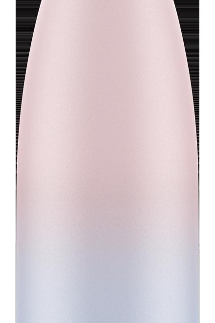 Bouteille isotherme dégradée rose & bleu 500ml