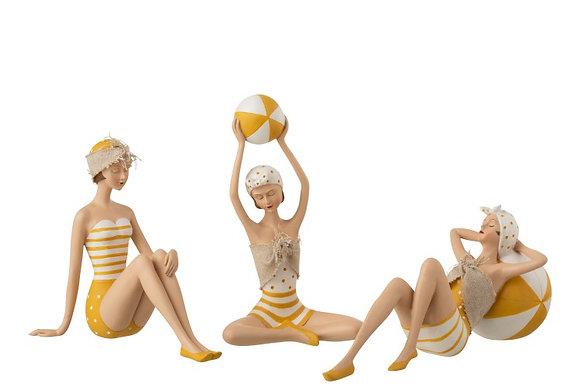 Statuette femme en maillot de bain ( unité )