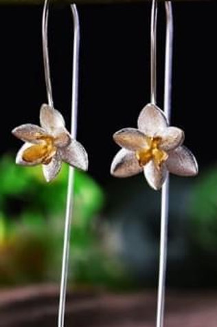 Copie de Boucles d'oreilles cristal de roche