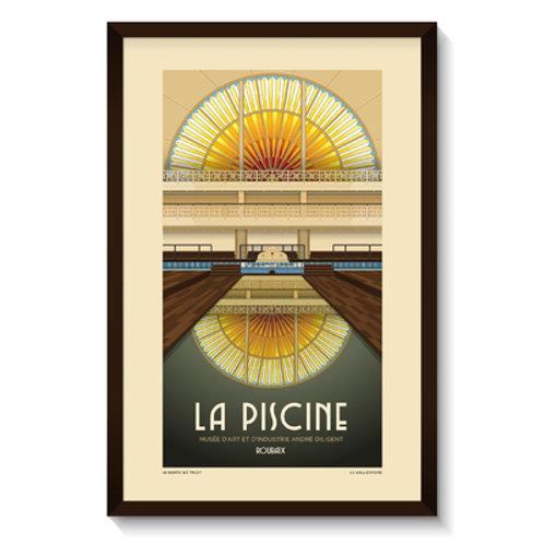 Affiche Piscine