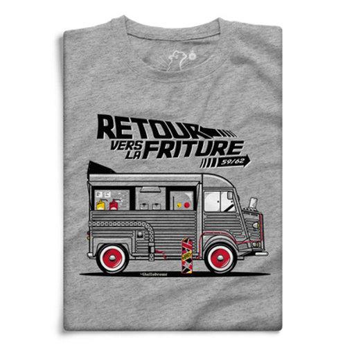 """Tee-shirt """"Retour vers la friture"""""""