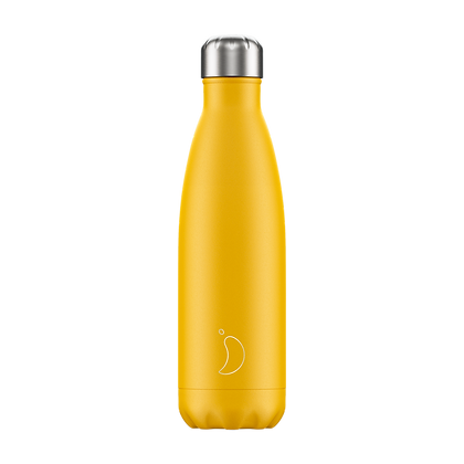 Bouteille isotherme jaune 500ml