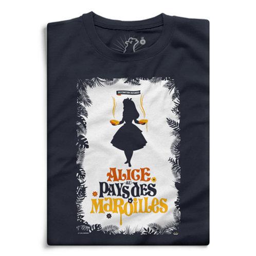 """Tee-shirt """"Alice au pays des maroilles"""""""