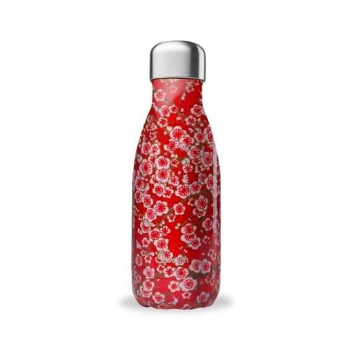 Bouteille isotherme - Flowers - rouge - 260ml