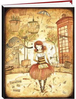 "Cahier Jehanne Weyman ""Travelling my world"""