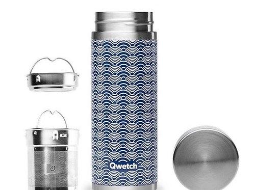 Théière isotherme - Wave - bleu - 400ml