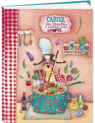 "Cahier Mila ""Cuisiner avec amour"""