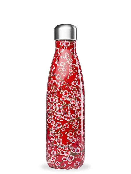 Bouteille isotherme - Flowers - rouge - 500ml