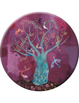 """Miroir Izou """"L'arbre aux oiseaux"""""""