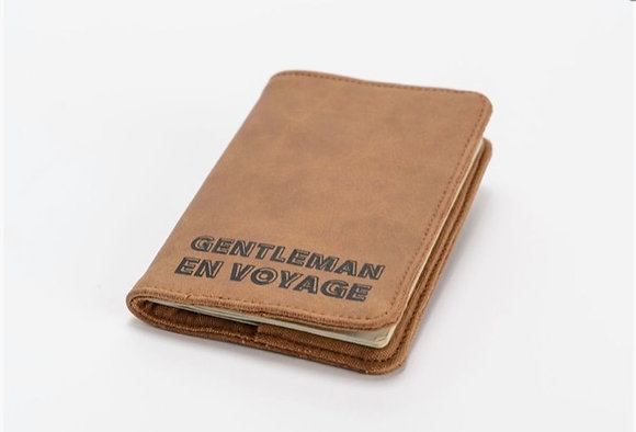 Protège passeport gentleman