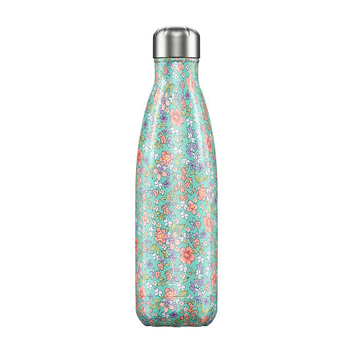 Bouteille isotherme fleurs 500ml