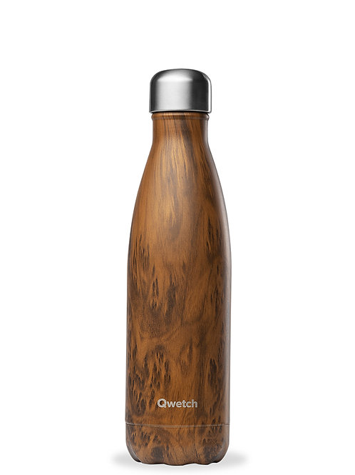 Bouteille isotherme - Wood brun - 500ml