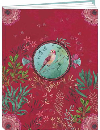 "Cahier Izou ""L'oiseau rose"""