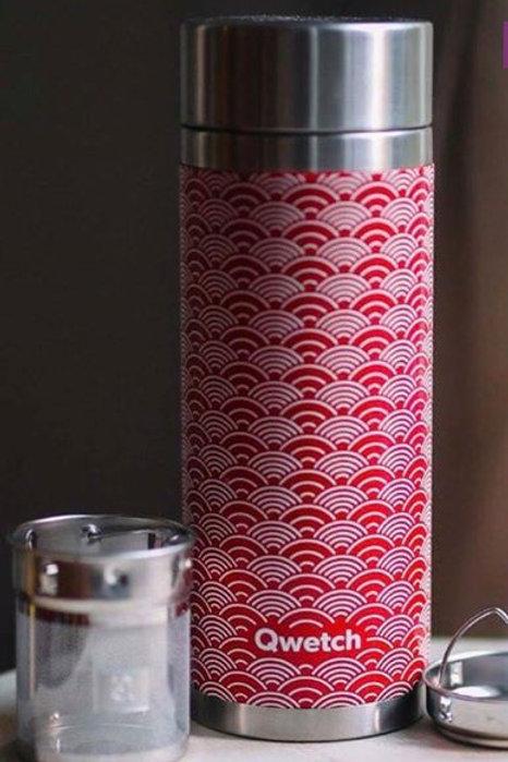 Théière isotherme - Wave - rouge - 400ml