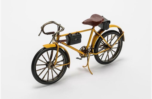 Vélo garçon vintage jaune