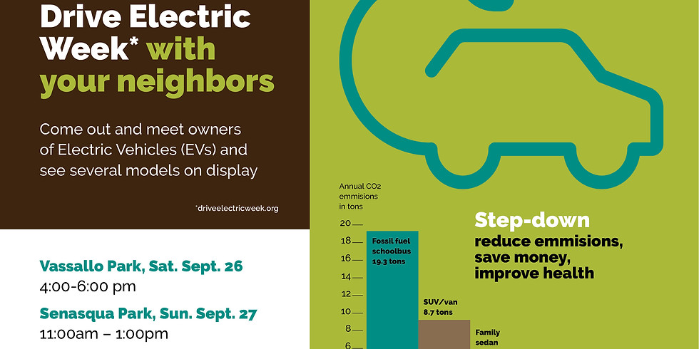 Celebrate National Drive Electric Week with your Neighbors