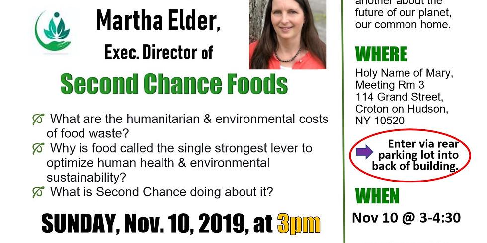 November 2019 Sustainable Sunday Presentation - Martha Elder