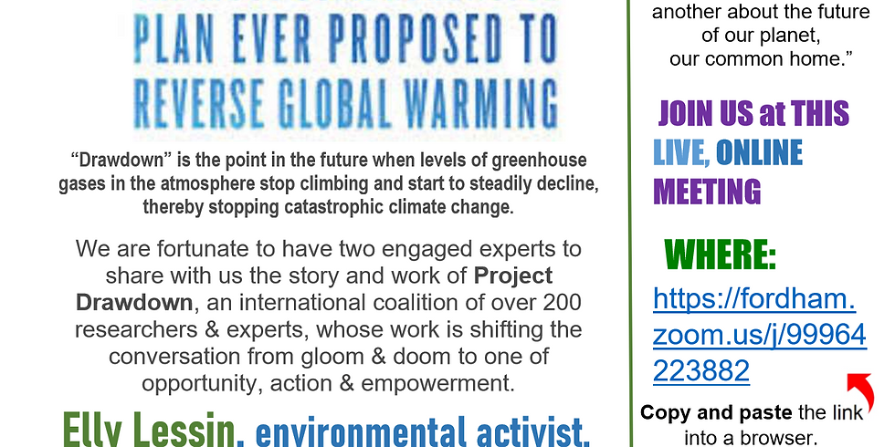 Drawdown:  The Most Comprehensive Plan Ever Proposed to Reverse Global Warming (1)