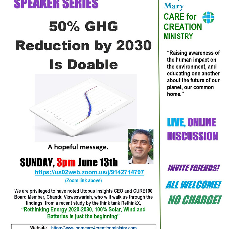 50% GHG Reduction by 2030 is Doable