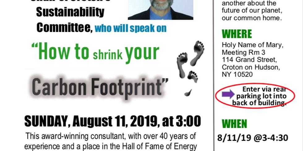 Sustainable Sunday Presentation - August 11