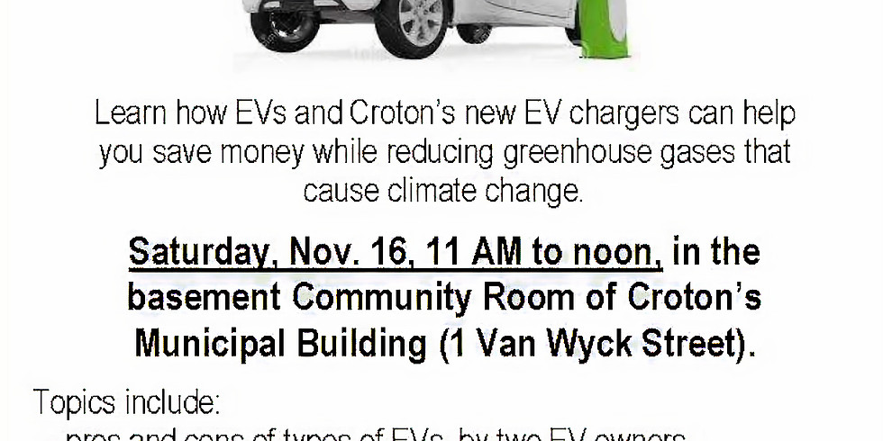 Drive an Electric Vehicle (EV), And Kiss Your Gas Goodbye!