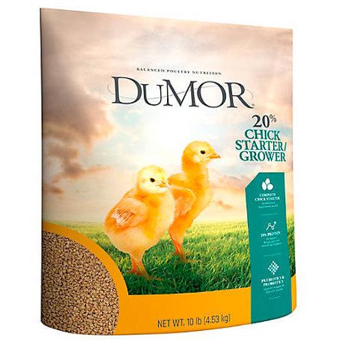 DuMOR Chick Starter Feed 10lb
