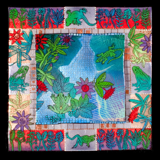 Frogs and Lizards Quilt