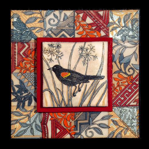Red-winged Blackbird Quilt