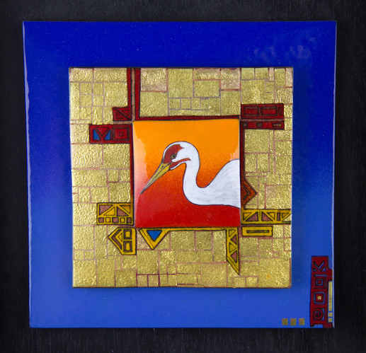 Whooping Crane Gold