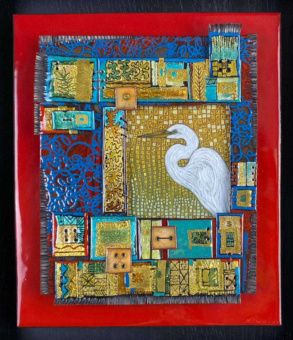 Swamp Queen Egret
