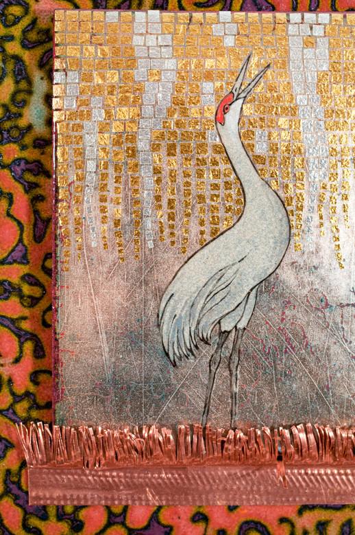Avé Sandhill Crane (Detail)