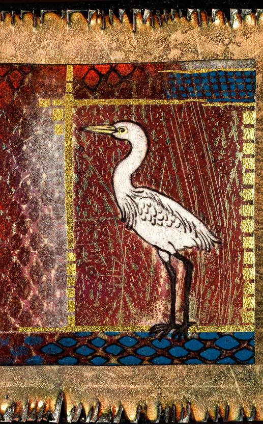 Egret Red (Detail)