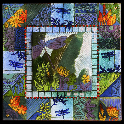 Floridance Quilt: Dragonfly