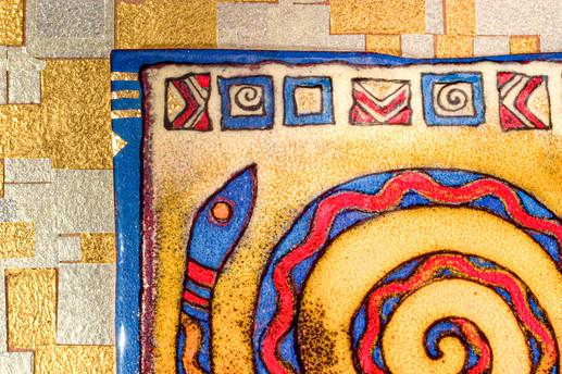 Spiral Snake (Detail)