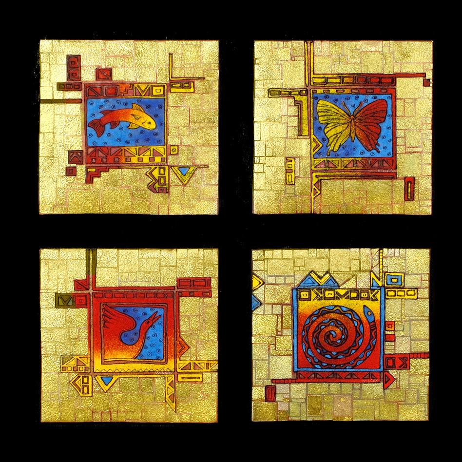 Swamp Gems Gold Squares