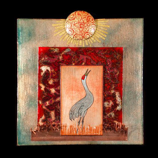 Sandhill Sun Crane