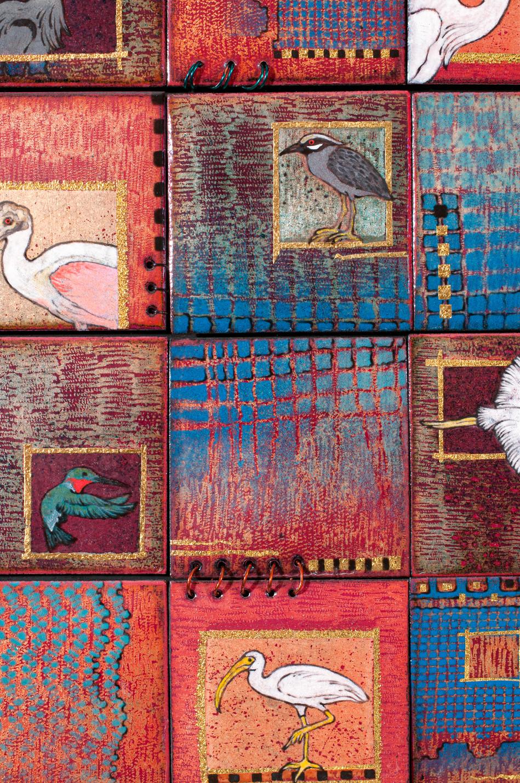 Swamp Gems:12 Birds (Detail)