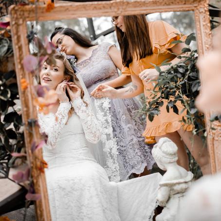 K&J | A Front Yard Wedding