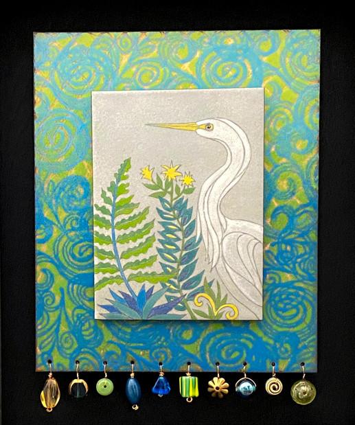 Swamp Garden Egret